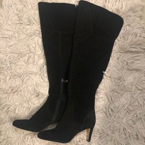 New Armaceli leather knee high boots